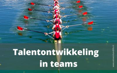 Talentontwikkeling in teams