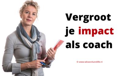 Met meer impact coachen? Gebruik het Talentenpaspoort!